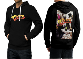 Cheers  80's Tv Show Black Cotton Hoodie For Men - $39.99