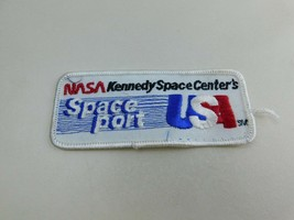 NASA Kennedy Space Center SPACEPORT Red White Blue Souvenir Patch Badge A3 - $9.19