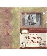"Family Memories Scrapbook Album 12""x12"" Masterpiece In A Minute Designer... - $17.63"