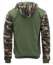 Men's Camo Zip Up Sherpa Hoodie Fleece Hunting Sweater Jacket w/ Defect - 2XL image 2