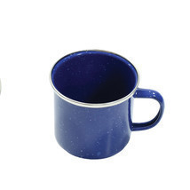 Tex Sport 12oz  Enamel Camping Coffee Mug/Cup with Stainless Steel Rim - $7.42