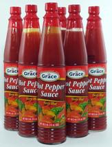 6 pcs Grace Very Hot Pepper Sauce - 3 oz ea - $43.94