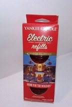 Yankee Candle HOME FOR THE HOLIDAYS Electric Home Fragrance Scent Oil 2 ... - $24.70