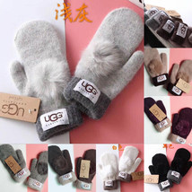 Woman Wool Glovess Fashion Designer Warm Glove Drive Out Of Sports Mitten - $22.99