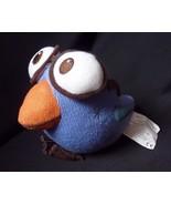 "Rare Starbucks 2007 Collectors Blue Bird Big Eyes Reading Glasses 7"" Plush - $17.01"