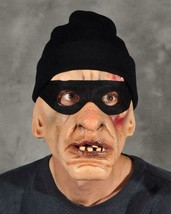 Thug Mask Burglar Thief Bum Funny Knit Cap Halloween Costume Party M2024 - $79.53 CAD