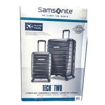 "Samsonite TECH TWO 2.0 2-Piece Hardside Set Luggage Silver 27"" & 21""  (r... - $128.69"