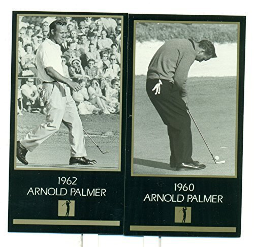 Arnold Palmer Lot of 2 Grand Slam Ventures GSV Master Collection Cards (1960, 19