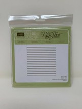 Stampin Up Simple Stripes Textured Impressions Embossing Folder #145648 New Seal - $11.87