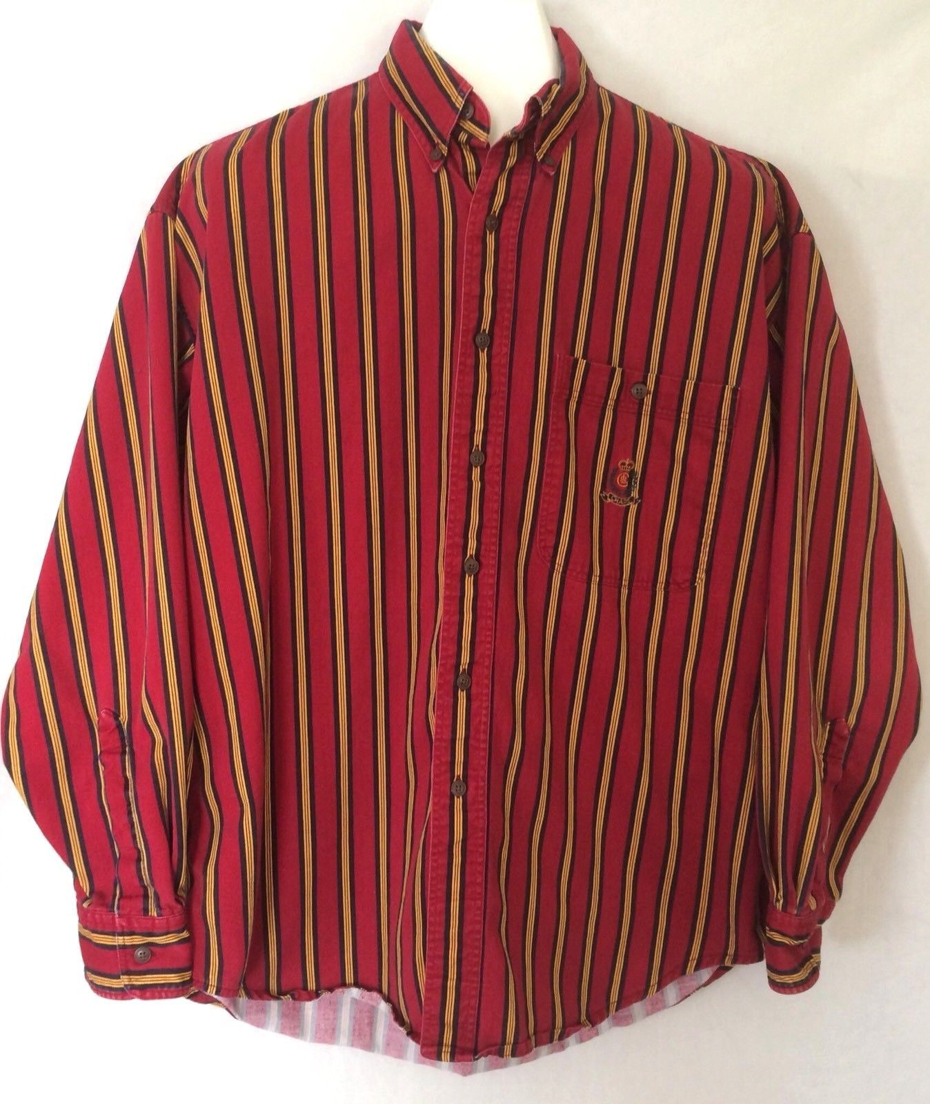 e3d4e69b431f Vtg Chaps Ralph Lauren Striped Button Front and 50 similar items. 57