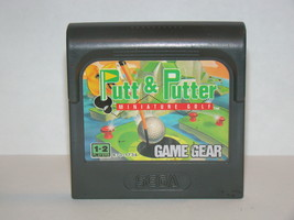 SEGA GAME GEAR - Putt & Putter MINIATURE GOLF (Game Only) - $6.75
