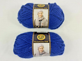 Lot of Two (2) NEW Hometown USA Yarn Fort Worth Blue Color # 109 - 023032007885 - $9.90