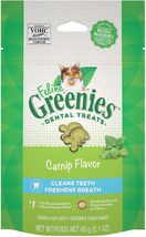 Greenies Feline Natural Dental Care Cat Treats 2.1-2.5 oz - $5.50+