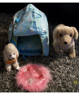 American Girl Coconut Dog House, Walking Poodle & Sandy Poseable Dogs & ... - $24.00