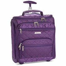"""16.5"""" Underseat Women Luggage Carry On Suitcase - Small Rolling Tote Bag... - $56.82"""