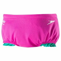 Brand New Speedo Kids' Swim Diaper with Ruffles Water Resistant UV50+ image 2