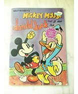 Set of 2 Vintage 1937 Walt Disney Donald Duck Comic Coloring Books C2897 - $17.35