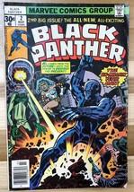 BLACK PANTHER #2 (1977) Marvel Comics Jack Kirby art VG+ - $9.89