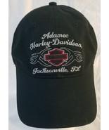 Harley Davidson Embroidered Baseball Cap Adjustable Strap Jacksonville F... - $18.81