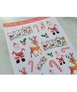 Retro Christmas Sticker Sheet - $3.50