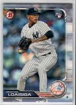 2019 Bowman Jonathan Loaisiga RC #7 New York Yankees - $0.89