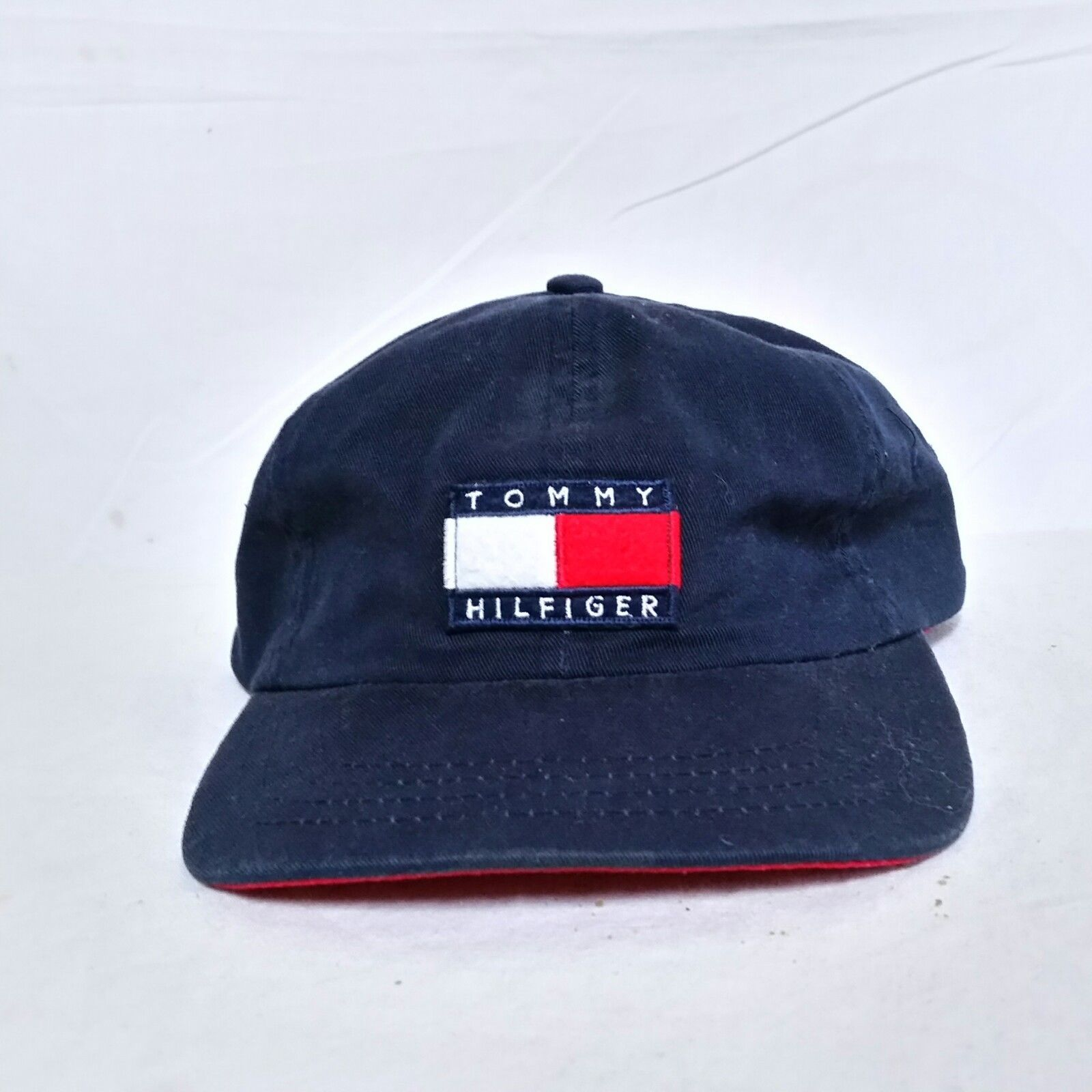 698ef56c S l1600. S l1600. Previous. VTG Tommy Hilfiger Snapback Hat Flag 90s Lotus  Sailing Cap Spell Out Baseball