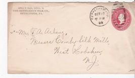 THE BEHTLEHEM SILK CO. BETHLEHEM, PA OCTOBER 18, 1889 - $2.68