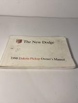 1998 Dodge RAM 98 Pickup Owners Manual ☆ OEM Factory Original Book Free S/H☆ - $8.90