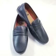 Florsheim Throttle Penny Shoes Black Sz 10 NIB - $53.97