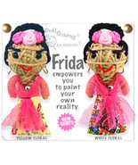 Kamibashi Frida Kahlo The Original String Doll Gang Keychain Clip - $10.99