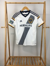 Adidas LA Galaxy KEANE #7 White Herbalife Jersey YOUTH L - $24.95