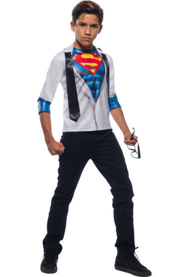 Primary image for Rubies DC Comics Superman Photoreal Hero Child Boys Halloween Costume 641264