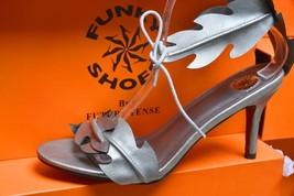 Silver Leaf Design Sandal image 2