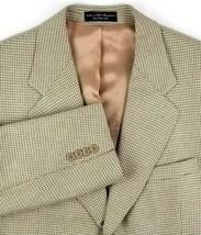 Gianfranco Ruffini Sport Coat 42 Short Silk Blend 3 Roll 2 Button Gold C... - $34.60