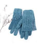 set of gloves and mitts 100% tweed wool - $17.00