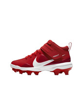 Nike Force Trout 7 Pro MCS Big Kids University Gym Red White Baseball Cleat 1Y image 2