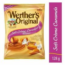 3 Werther's Original Soft Crème Caramel Candy 128g/4.5oz Canada FRESH DELICIOUS - $24.01