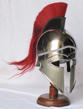 Greek Corinthian Helmet Medieval Armour Helmet Wearable Warrior Replica - $158.11