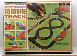 Vintage 1966 Ideal Toy Motorific Alcan Highway Torture Track #4589-8 No Cars USA - $43.71