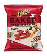 Baked Cheetos Crunchy Flamin' Hot, 40 Count - $17.22