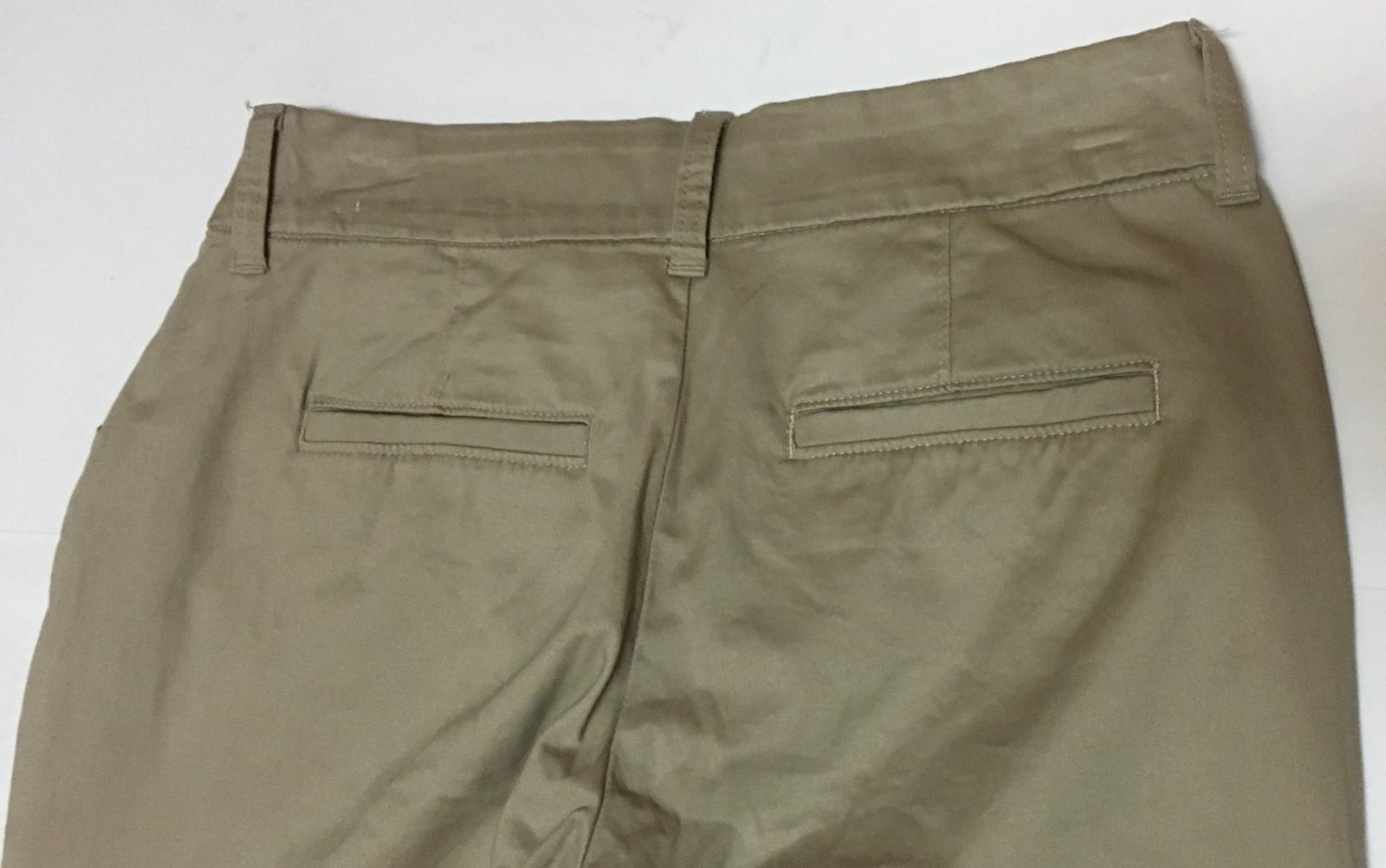 Lee Riders Curvy Trouser Women's Beige Pants Sz 8P