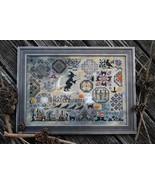 Quaker Halloween cross stitch chart by Lila's Studio  - $14.40