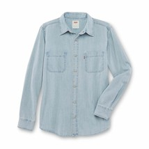 Levi's Men's Classic Long Sleeve Button Up Casual Denim Dress Shirt 3LMLW0983 image 2