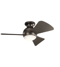 Kichler 330150OZ Sola Ceiling Fans 34in Olde Bronze Steel 1-light - $329.00