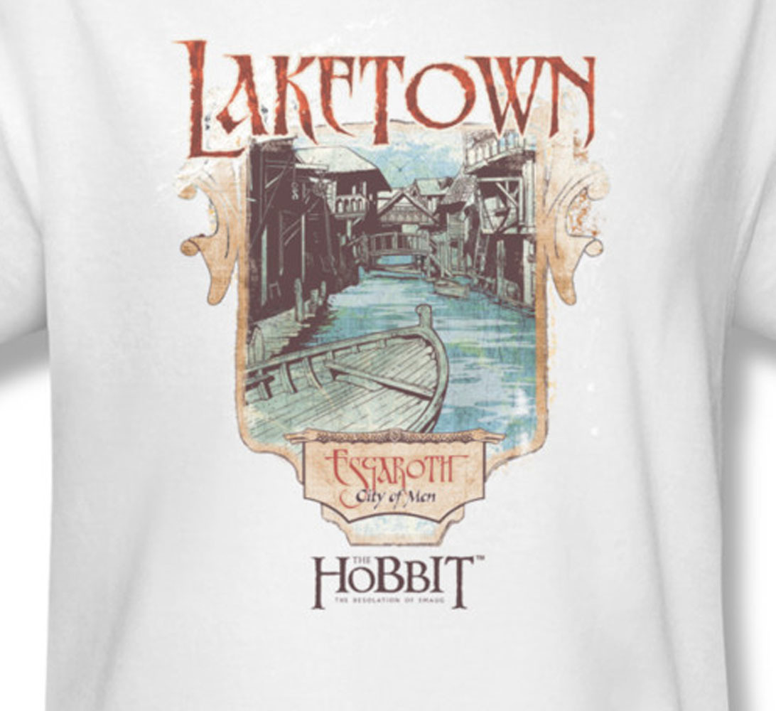 The hobbit the desolation of smaug bilbo baggins for sale online graphic white teehob2014 at