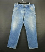 Levis Vintage Mens 36 Jeans Two Horse Brand Straight Leg Relaxed Fit Den... - $42.99