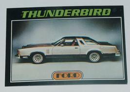 1976 Topps Autos of 1977 Ford Thunderbird Car Card #37 VG-EX Condition - $13.00
