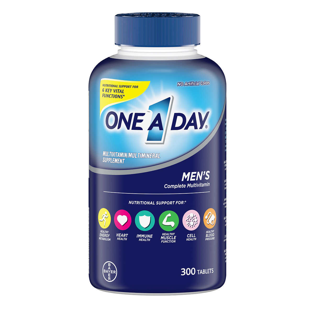 Primary image for One A Day Men's Multi Vitamins Dietary Supplement 300 Tablets Bottle Exp 10/2021