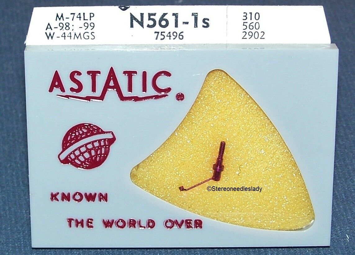 Astatic N561-1s for 641-S1 RECORD PLAYER NEEDLE STYLUS for RCA 75497 RCA 75475