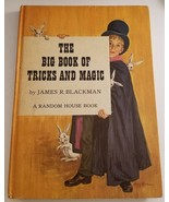 The Big Book of Tricks and Magic 1962 James R. Blackman Vintage Children... - $9.89
